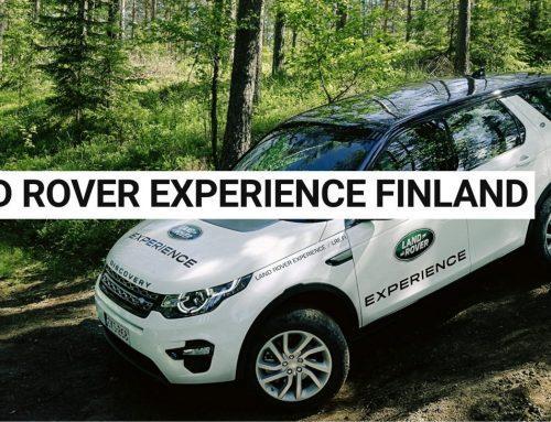 Land Rover Experience Finland ja Centerfield Team Finland kumppanuuteen
