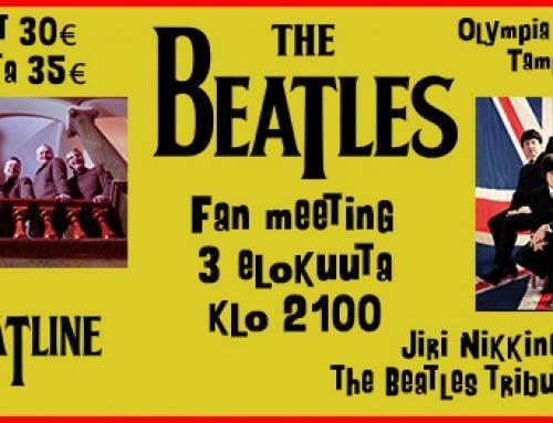 Vieläkö The Beatles musiikille löytyy kannattajia Tampereelle?