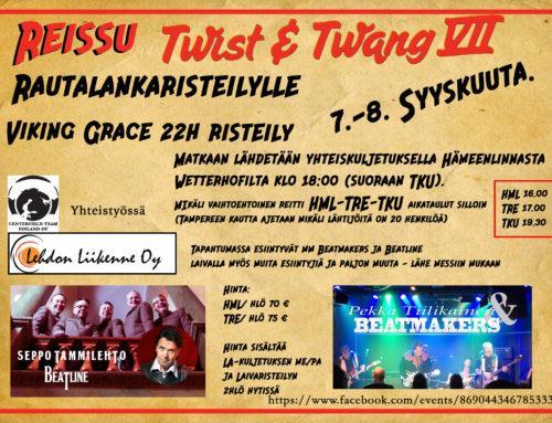 Reissu Twist & Twang Rautalankaristeilylle